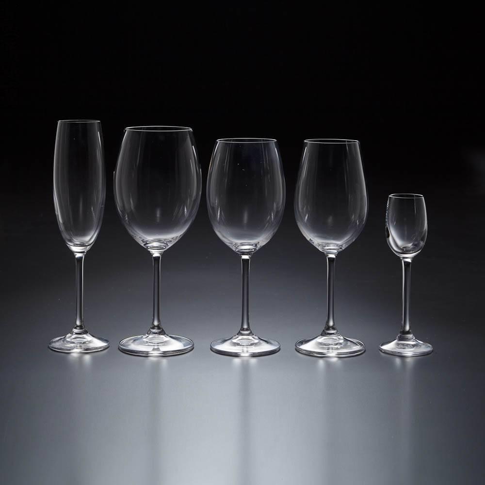 Conjunto de Taças Gastro - 30 Peças - em Cristal - Bohemia
