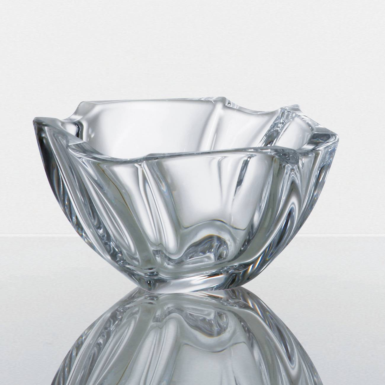 Conjunto 6 Tigelas Bowls Neptun em Cristal - Bohemia Crystalite - 13 cm