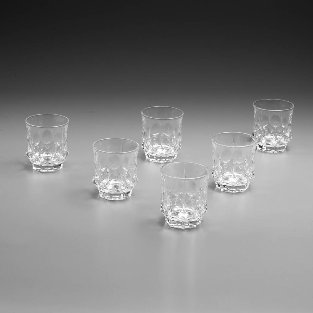 Conjunto 6 Copos para Whisky Soho - 280 ml - em Cristal