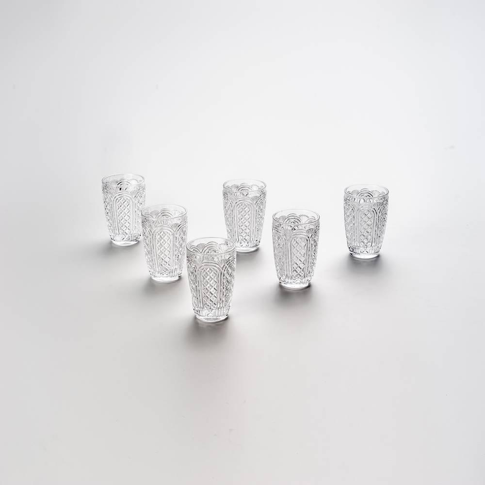 Conjunto 6 Copos Highball Paty Transparente - 360 ml - em Vidro - Bon Gourmet