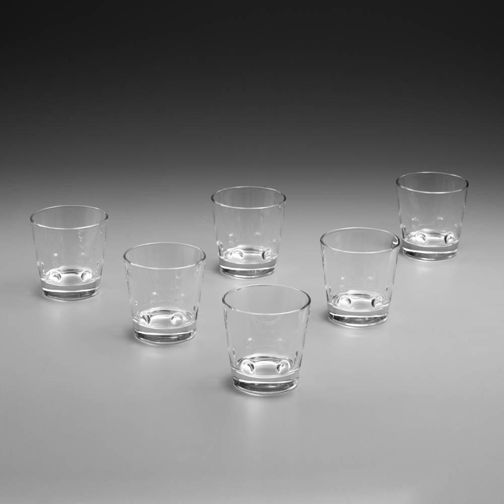 Conjunto 6 Copos para Água Rialto Bicchiere - 360 ml - em Vidro