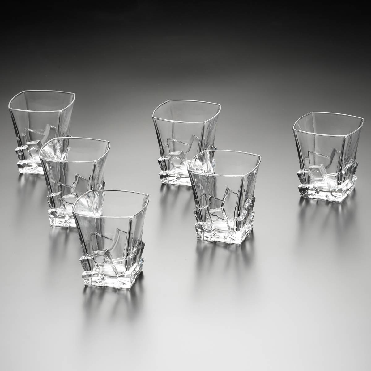 Conjunto 6 Copos para Whisky Bari - 270 ml - em Cristal - Wolff