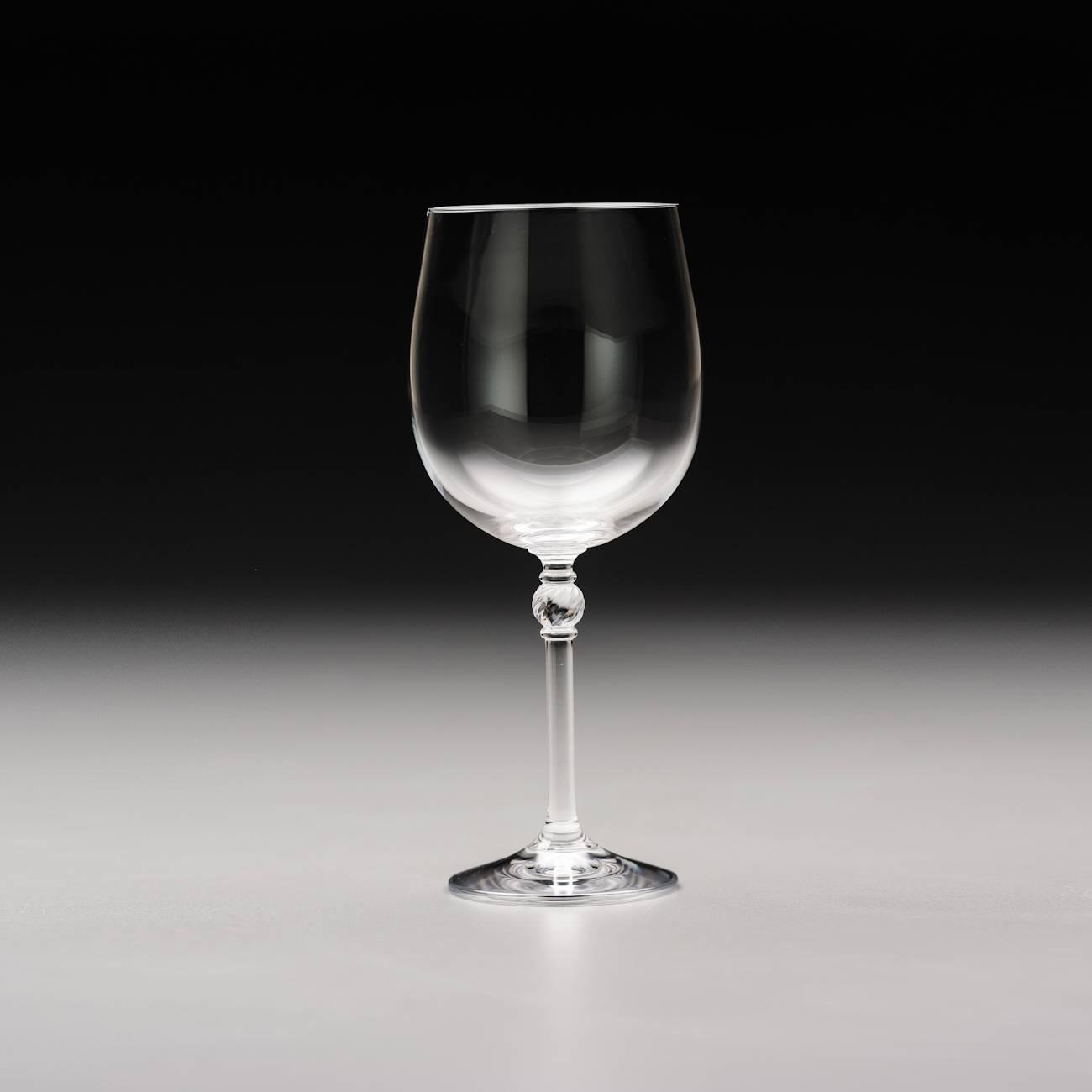 Conjunto de Taças para Vinho Tinto Florence - 6 Peças - 250 ml - em Cristal - Bohemia - 19,5x8 cm