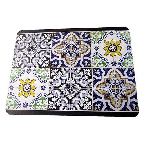 Jogo Americano Azulejos em MDF - 30x40 cm