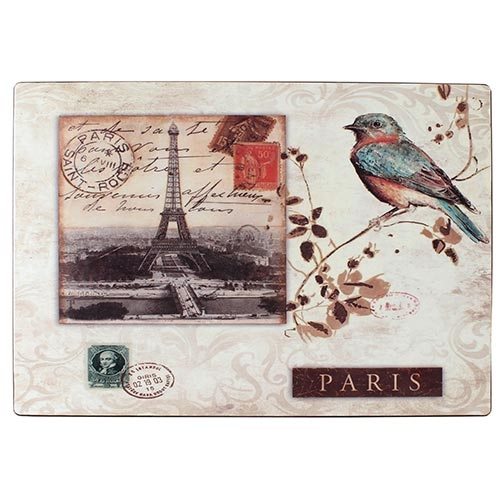 Jogo Americano Bird Selo Paris Fullway - 45x32 cm