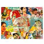 Jogo Americano Bollywood - 2 Peças - em MDF - Urban - 40x28 cm