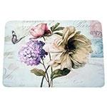 Jogo Americano Flores Vintage em MDF - 30x40 cm