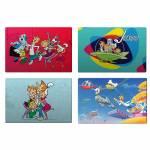 Jogo Americano Hanna Barbera The Jetsons All Fun Caracthers - 4 Peças - em PVC - Urban - 44x28,5 cm