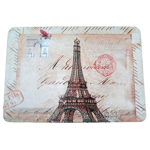Jogo Americano Monumentos Paris em MDF - 30x40 cm