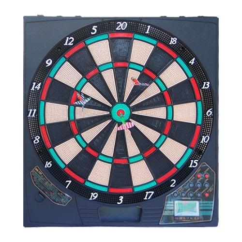 Jogo de Dardo Eletrônico c/ 6 Dardos - 46x42 cm