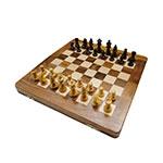 Jogo de Xadrez Magnetic em Madeira Oldway - 30x30 cm