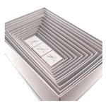 Kit 15 Caixas Prata com Glitter