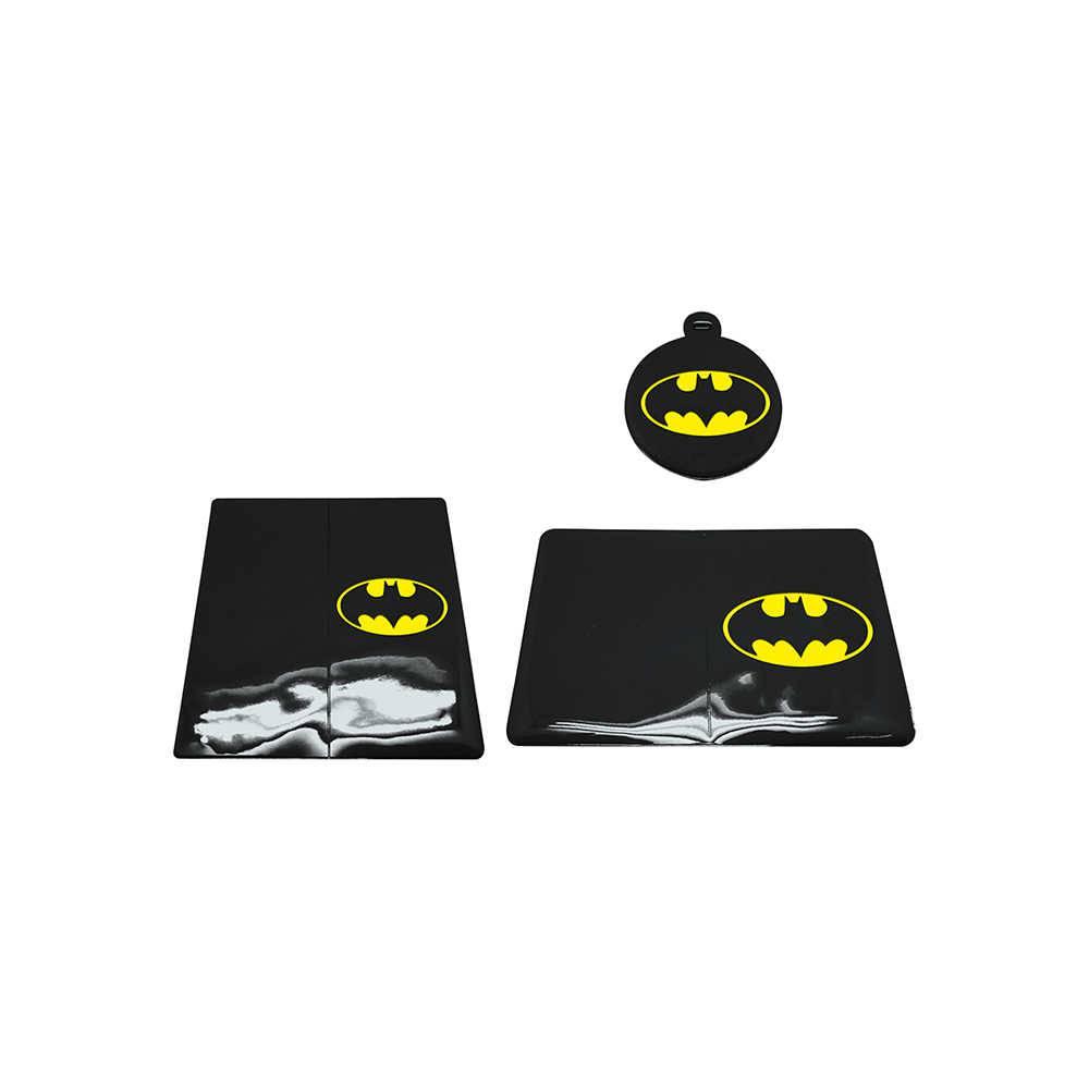 Kit 3 Peças para Viagem DC Comics Batman Logo Preto em PVC - Urban