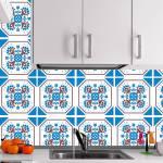 Kit Papel de Parede para Azulejo - 28x28 cm - Octogonal