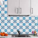 Kit Papel de Parede para Azulejo - 20x20 cm - Octogonal