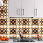 Kit Papel de Parede para Azulejo - 10x10 cm - Multicolorido