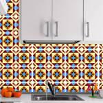 Kit Papel de Parede para Azulejo - 20x20 cm - Multicolorido