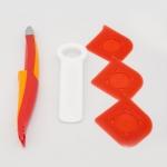 Kit Naxos - Abre Fácil, Flama e Raspatudo Vermelho - 5 Peças