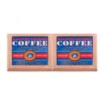 Kit Descansos para Panelas Coffe Azul em Madeira