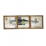 Kit quadros avião Swor