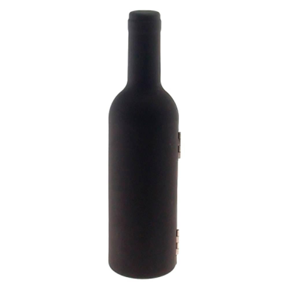 Kit para Vinho Garrafa - 3 Peças - Pequena - 24x6 cm