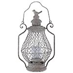 Lanterna Gaiola Lampião Pequena Oldway - 46x30 cm