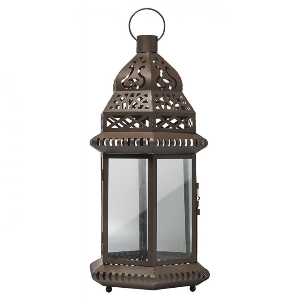 Lanterna Marroquina Marrom III