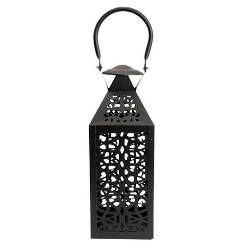 Lanterna Marroquina Rabat em Metal - 45x13 cm
