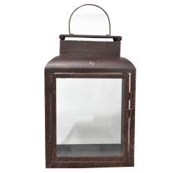 Lanterna Marroquina Straight Sides Le Jazz em Metal - Urban R$ 219,99 R$ 149,99 2x de R$ 75,00 sem juros