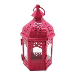 Lanterna Pequena Marroquina Hexagonal em Metal - Urban R$ 46,80 R$ 33,80 1x de R$ 30,42 sem juros