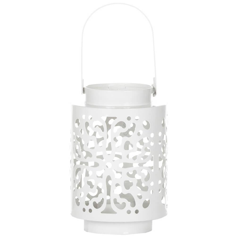 Lanterna Pequena Romanian em Metal - Urban - 22x10 cm