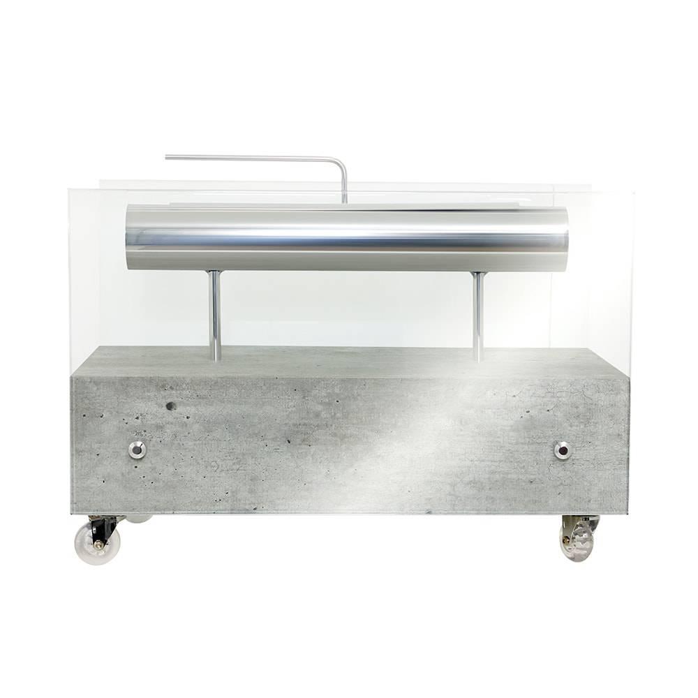 Lareira Ecológica Concreto Fullway - 60x30 cm