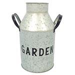 Leiteira Garden em Metal Greenway - 34x19 cm