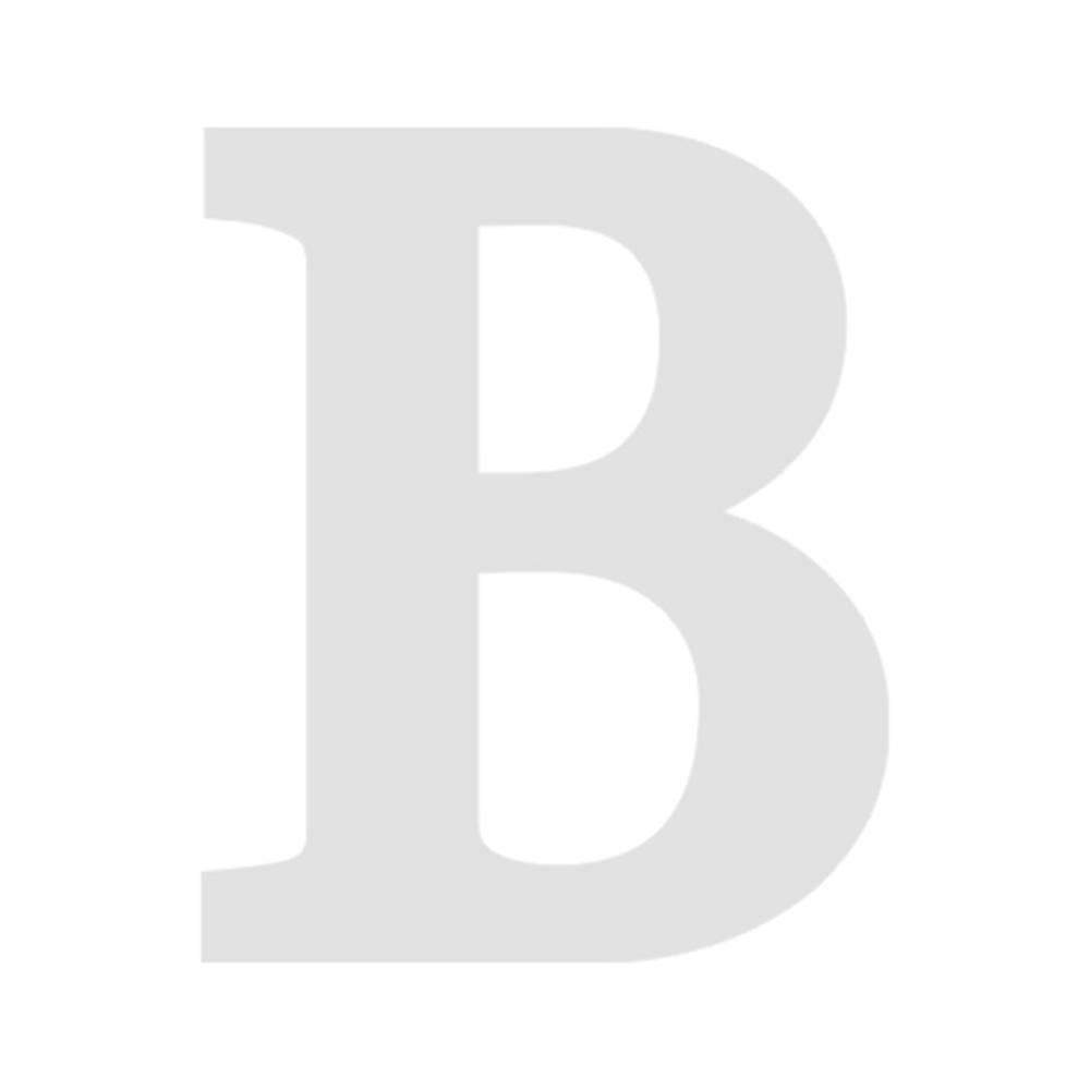 Letra B Decorativa Branco em MDF - 19x16 cm