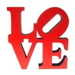 Letra Decorativa Love NY em Madeira