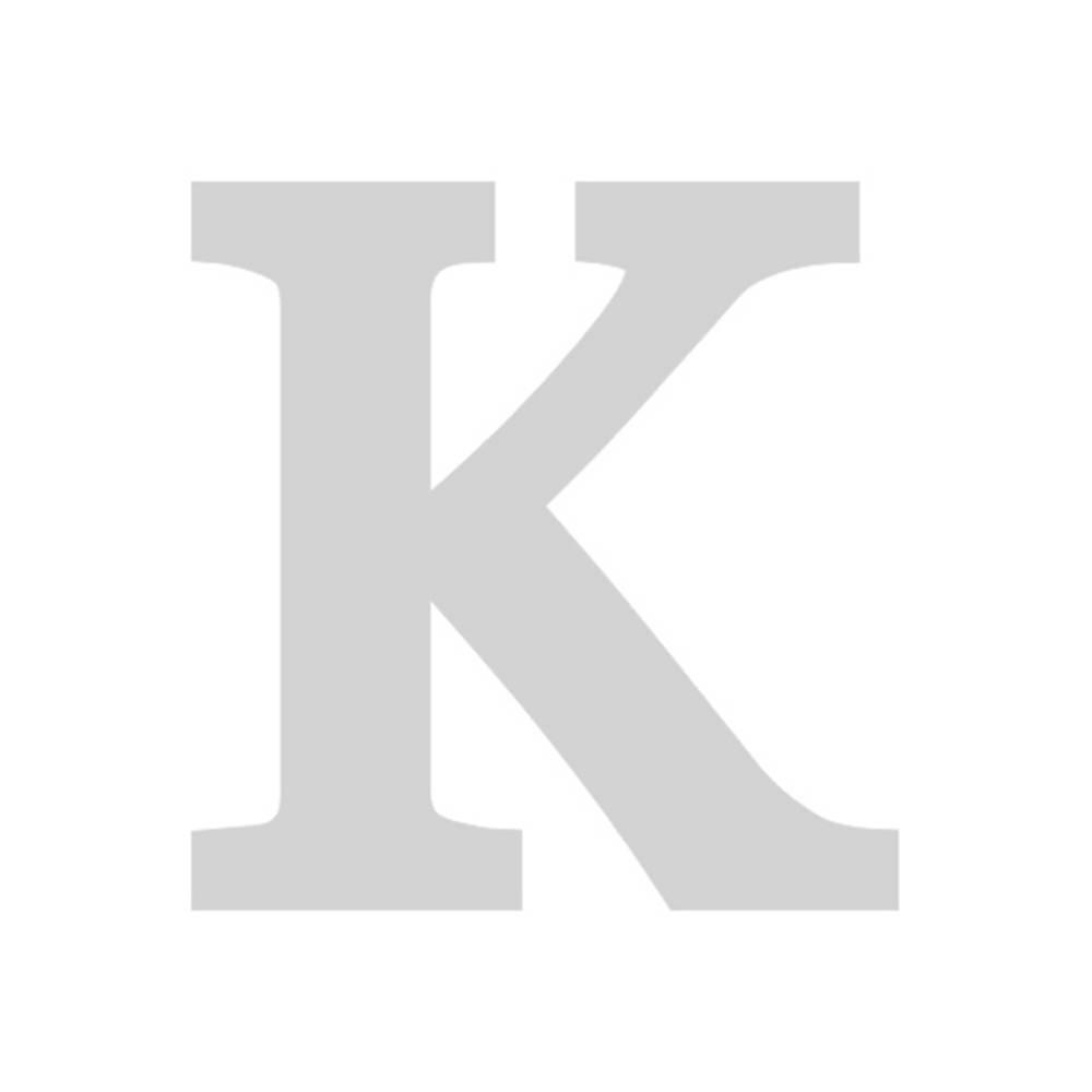 Letra K Decorativa Branco em MDF - 19x18,4 cm