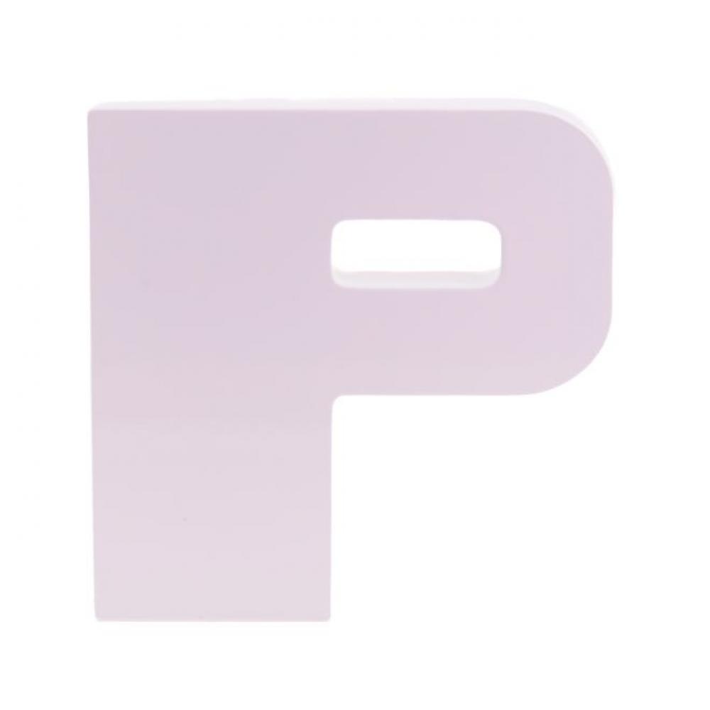 Letra Laca Branca P