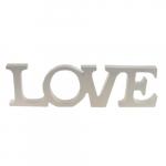 Letreiro LOVE grande branco