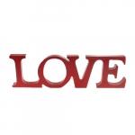 Letreiro LOVE grande vermelho