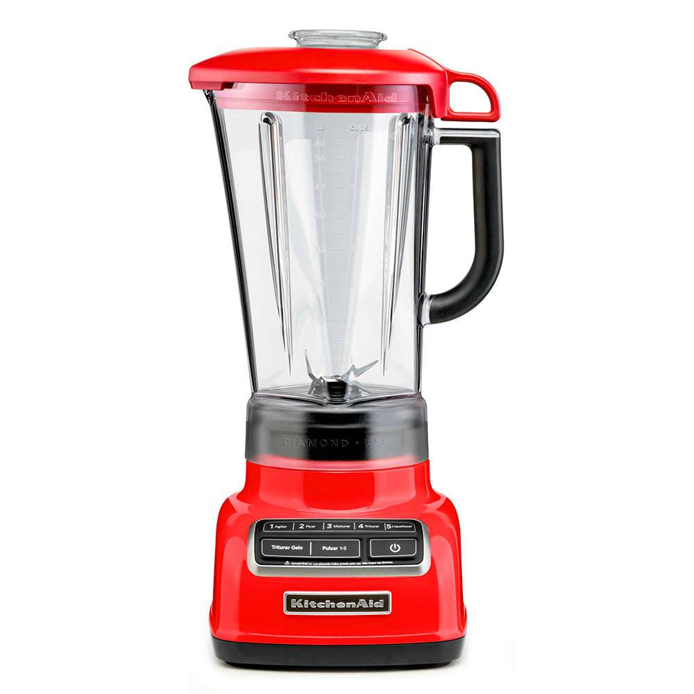Liquidificador Diamond KitchenAid Empire Red - KUA15AV2 - 220 V - 41,9x22,9 cm