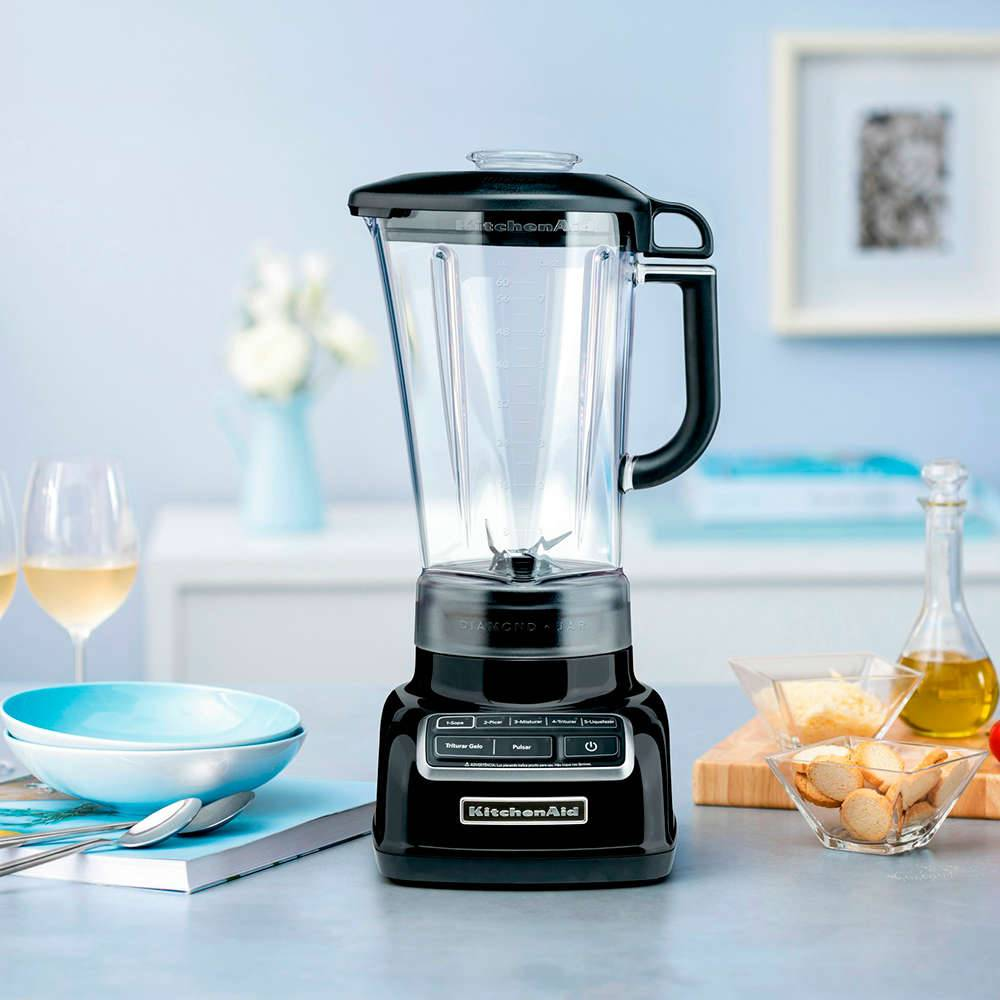 Liquidificador Diamond KitchenAid Onyx Black - KUA15AE - 127 V - 41,9x22,9 cm