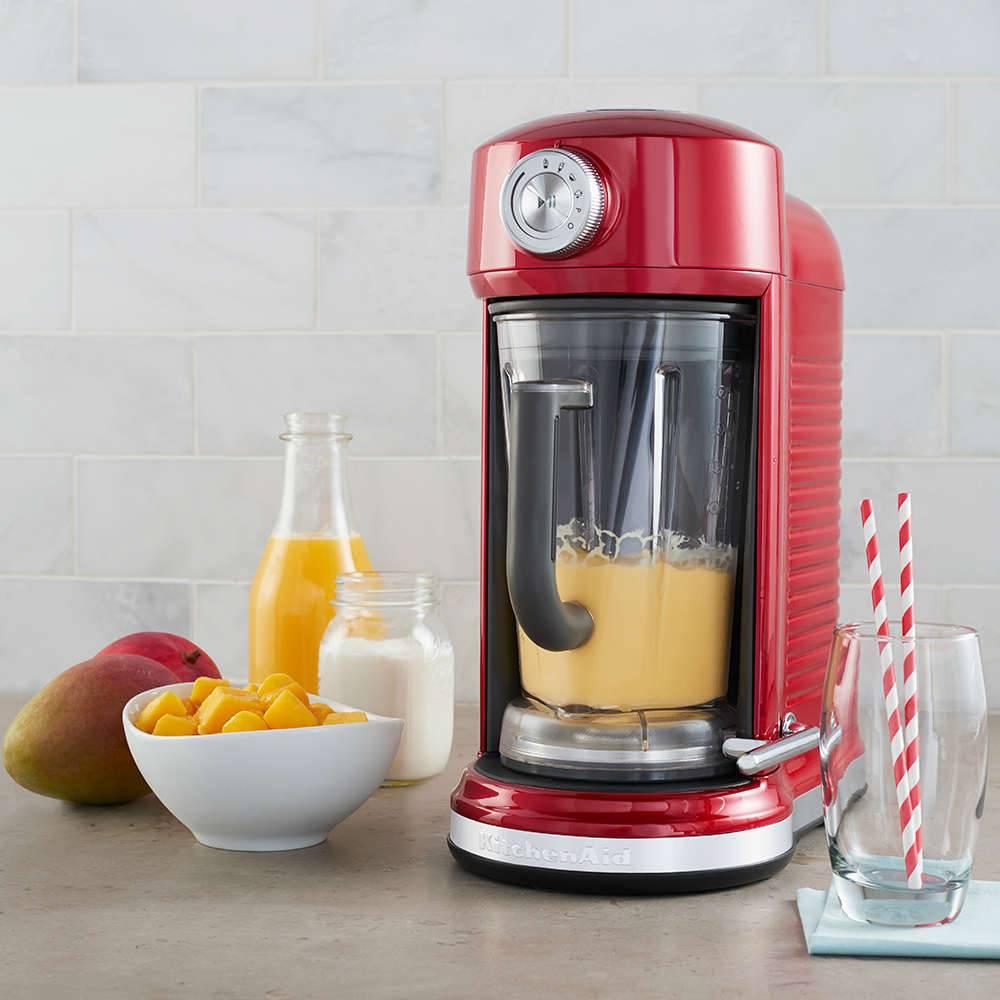 Liquidificador com Magnetic Drive KitchenAid 1,77L Candy Apple - 127 V - 40,6x33 cm
