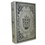 Livro Caixa Antique Leather