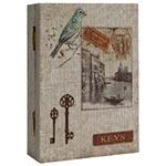 Livro Porta Chaves Book Bird Veneza Oldway