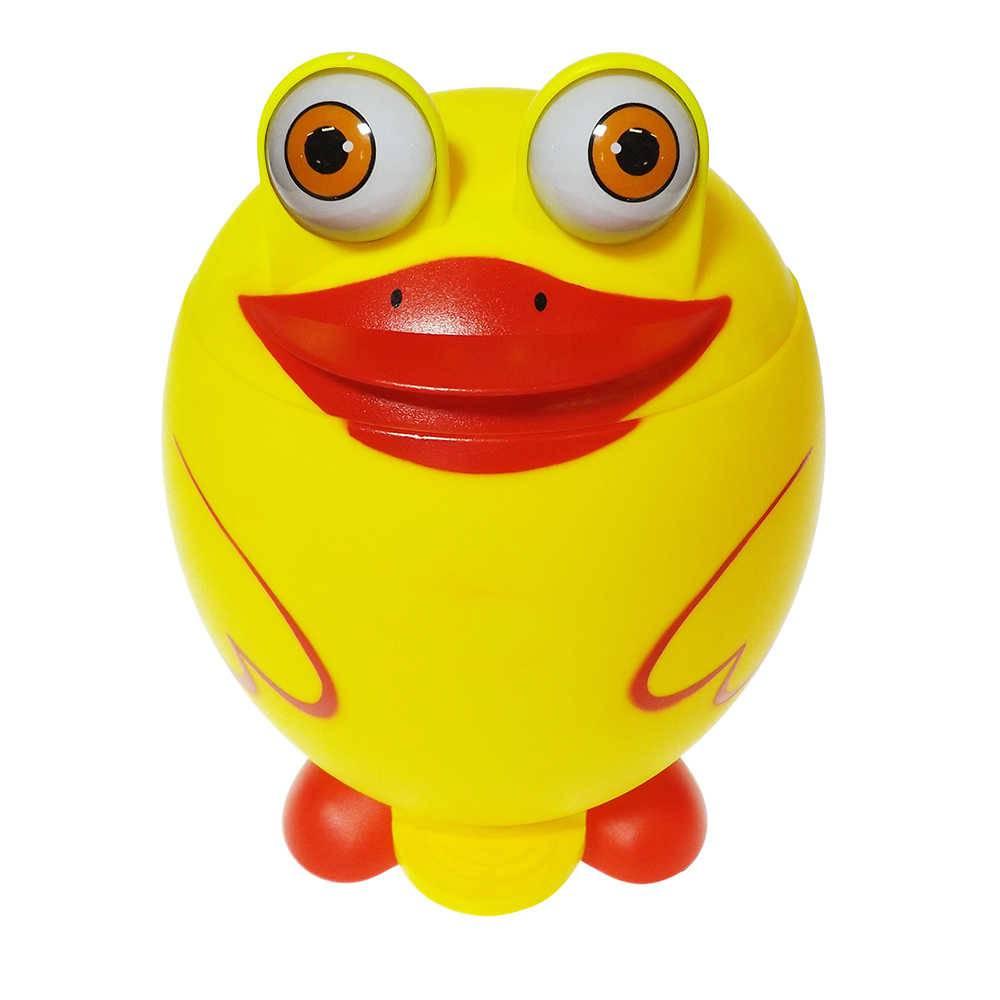 Lixeira Patinho Amarelo - 29x22 cm