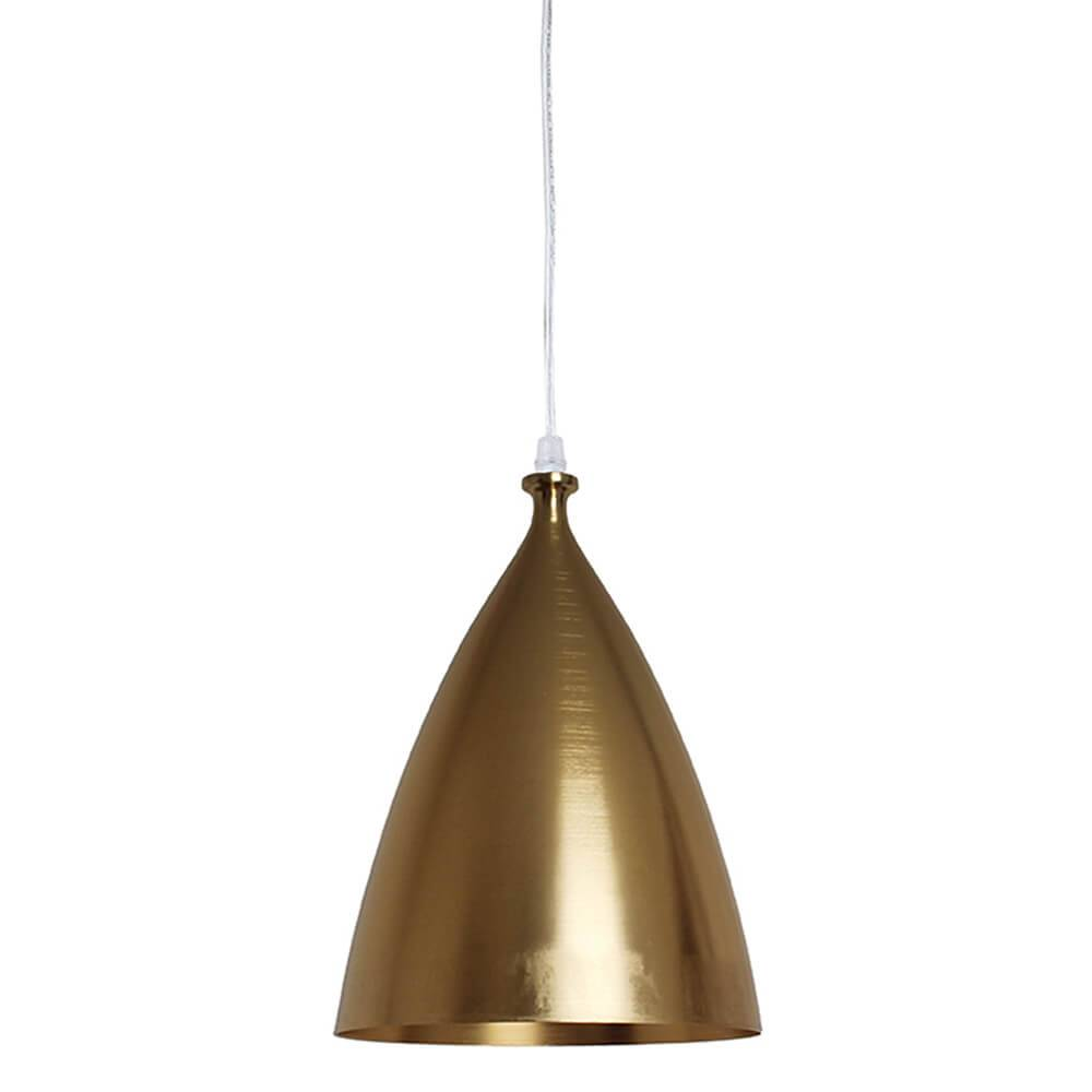 Luminária Bishop Dourada em Metal - Urban - 32x22 cm