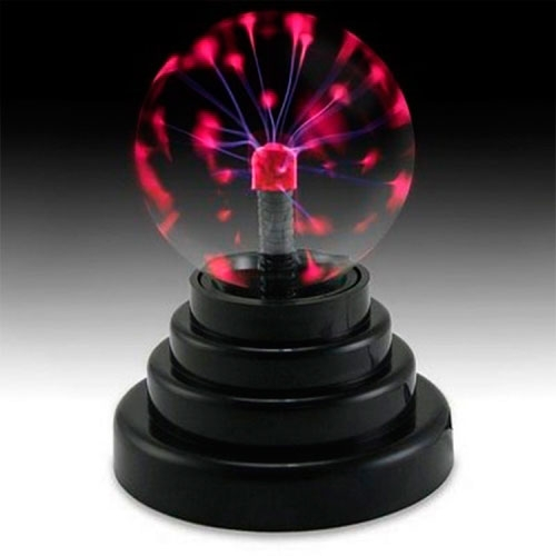 Luminária Bola Elétrica em Vidro - 28x16 cm