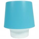 Luminária Candy Azul Pequena de Mesa - 16x15 cm