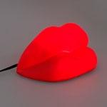 Luminária Decorativa Boca Vermelha