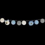 Luminária Decorativa Kit Amiguinhos Do Safari Azul - À pilha